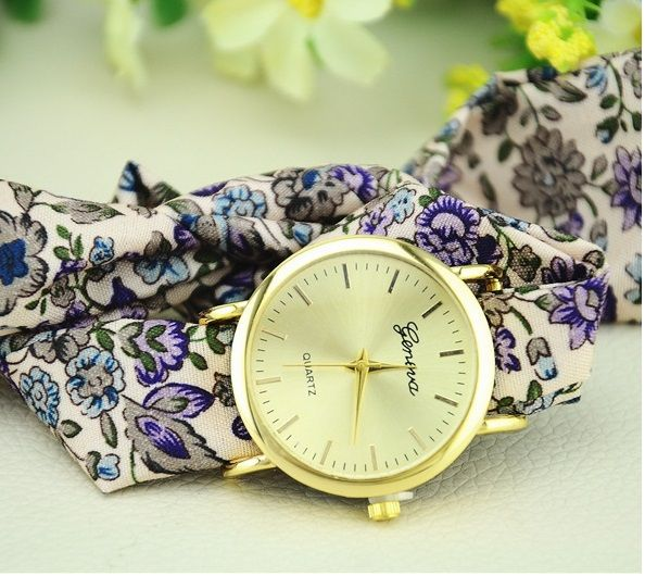 >> Click to Buy << NEW Big Ribbon Geneva Flowers Watch Fabric Lace casual dress Korean wristwatch Woman Fashion #Affiliate