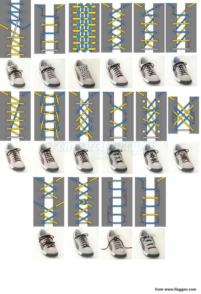Pomyslodawcy Pl Serwis Bardziej Kreatywny Diy Sneakers Tie Shoes Shoes