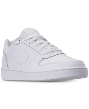 ca25470170 Nike Men s Ebernon Low Casual Sneakers from Finish Line - White 7.5 ...