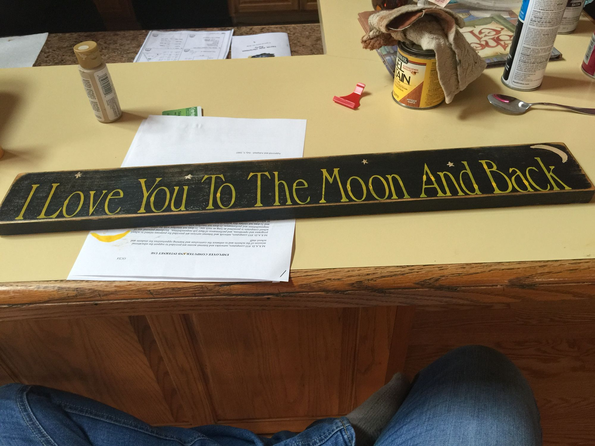 Primitive sign, I love you too the moon and back | Primitive signs ...
