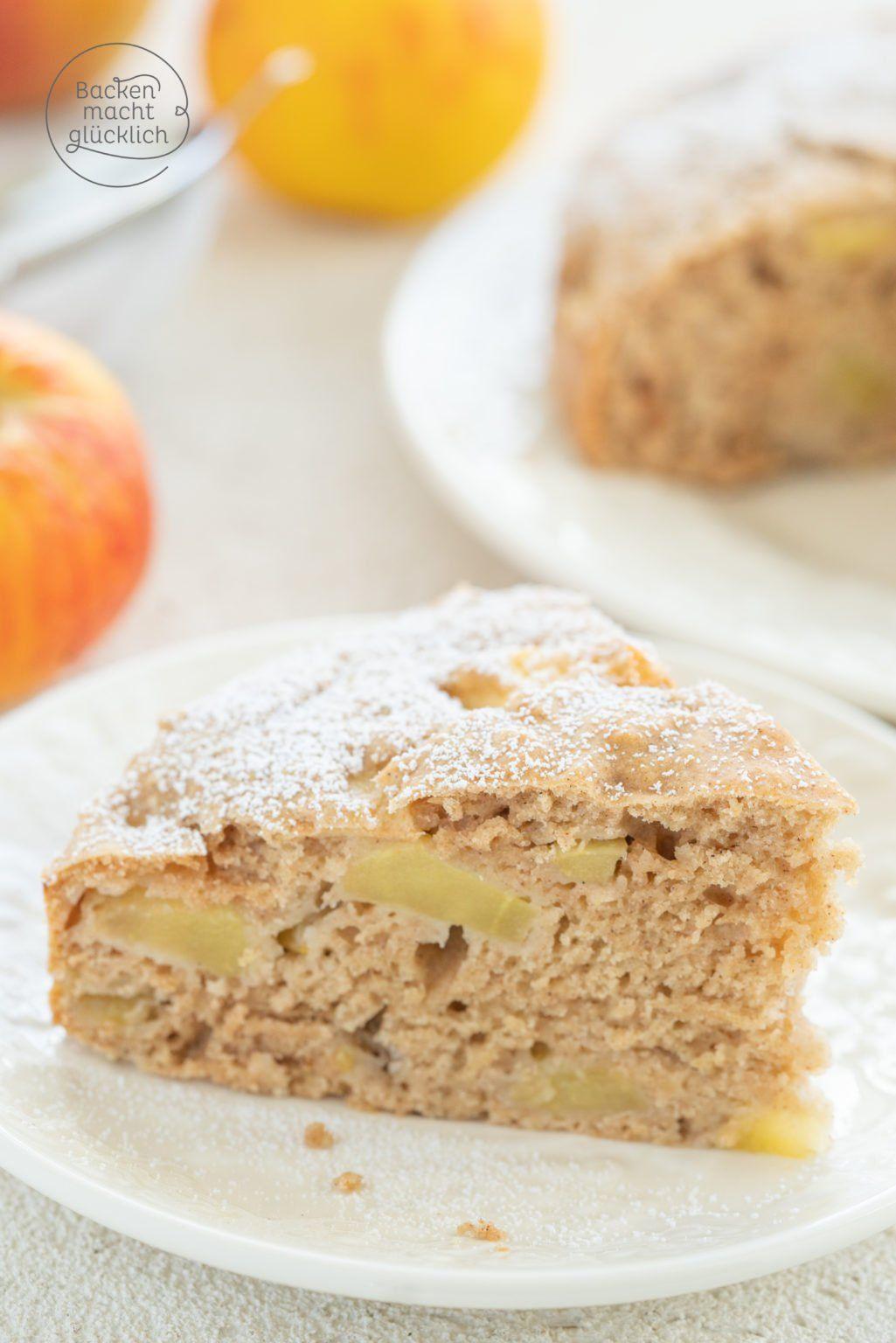 Apfelkuchen Ohne Zucker Butter Ei In 2020 Backen Macht Glucklich Kuchen Ohne Zucker Und Mehl Zuckerfreier Kuchen