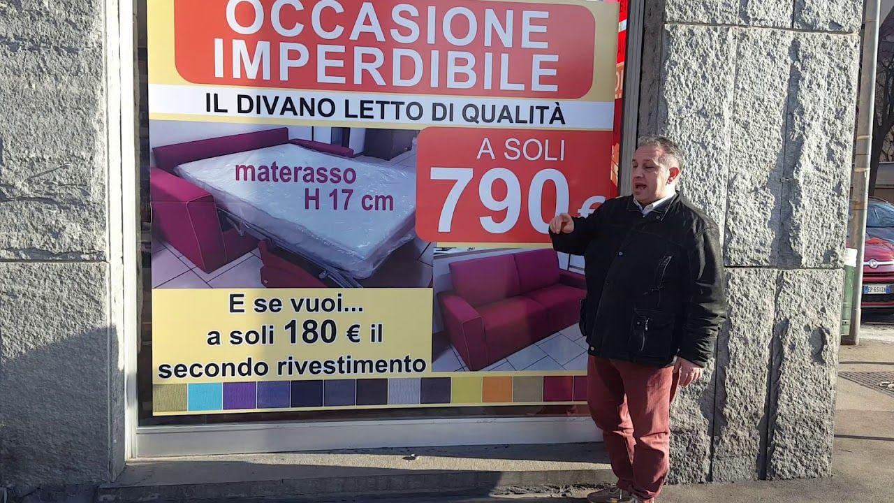 Offerta divano letto negozio Torino materasso h17 | Divani ...