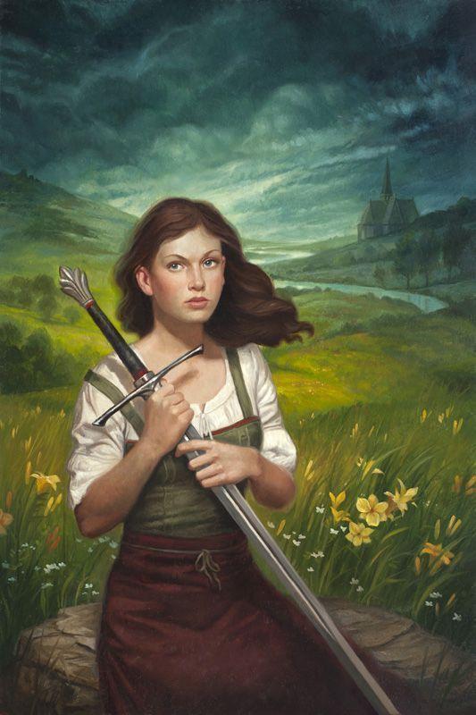 Amazon.com: John Everett Millais: Joan of Arc (The Maid of