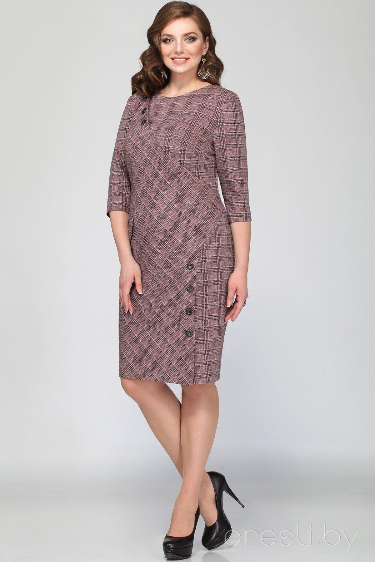 Платье с длинным рукавом - Черный - Женщины