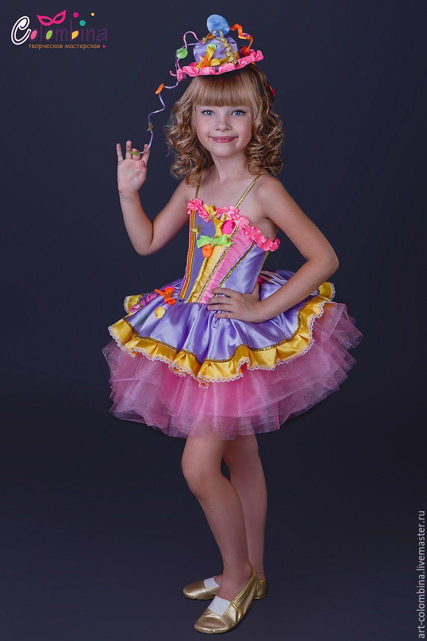 Костюм хлопушка для девочки своими руками фото