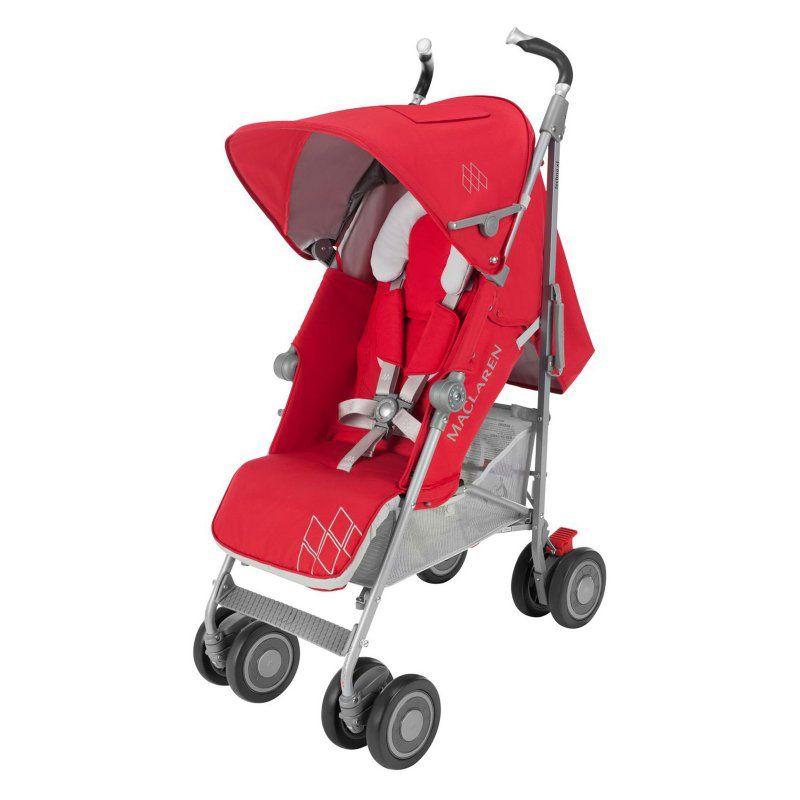 Maclaren Techno Xt Lightweight Stroller Cardinal Silver