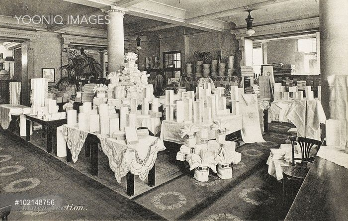 Selfridges Linen Section (With images) | History photos