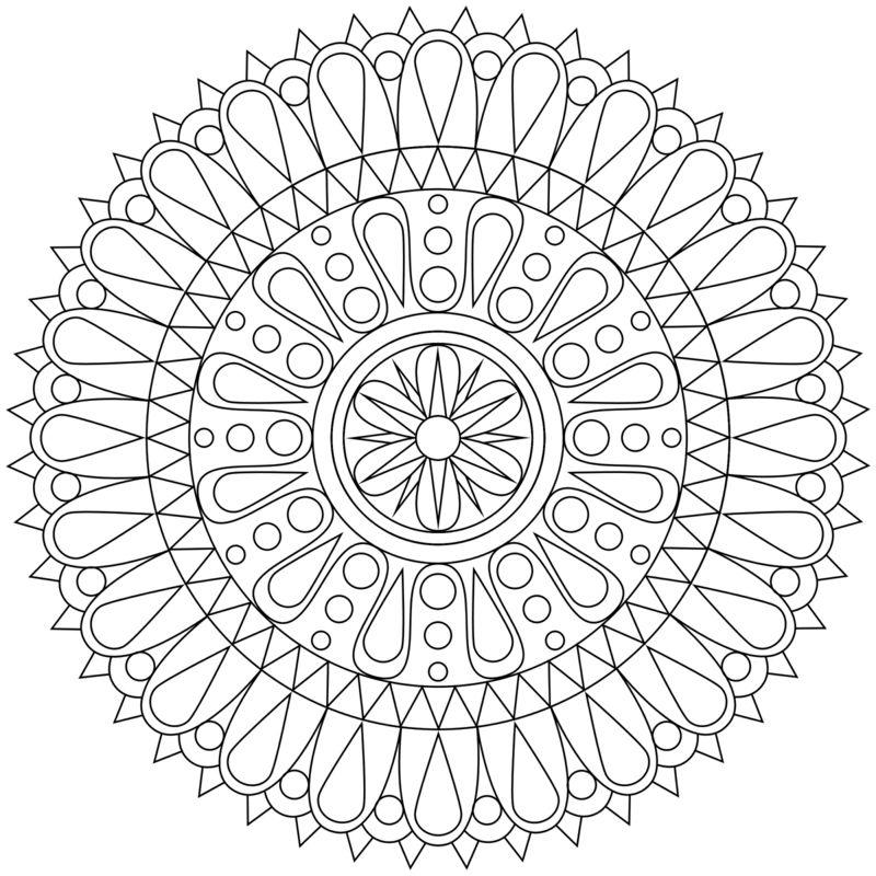 50 Mandala Vorlagen Stress Abbauen Diy Zenideen Geometrische Malvorlagen Kostenlose Ausmalbilder Mandala Vorlagen