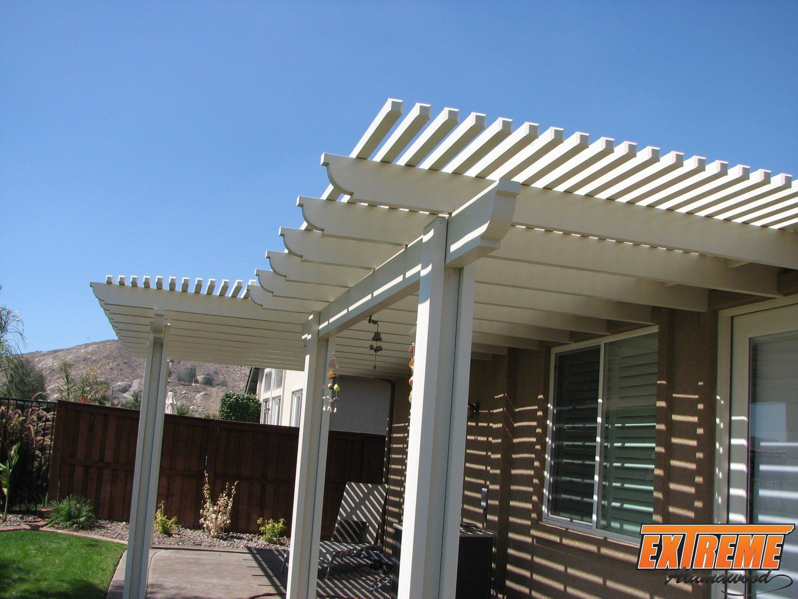 Wood lattice alumawood patio covers patios schmatios Patio products