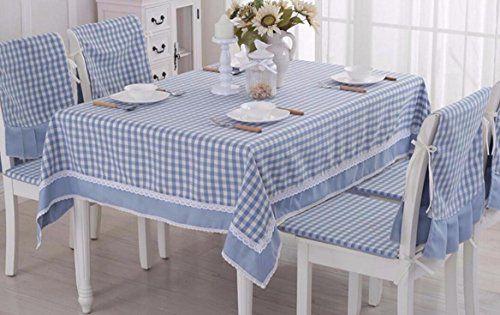 Wfljl European Style Tablecloth Cotton Decoration Kitchen Coffee