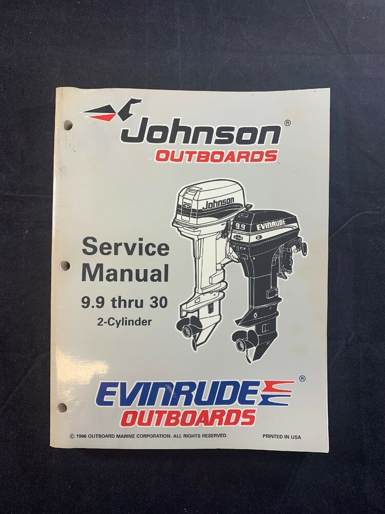 1996 Johnson 25 Hp Outboard Service Manual