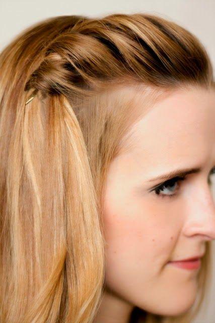Coiffure rapide cheveux mi longs Coiffure, Cheveux et