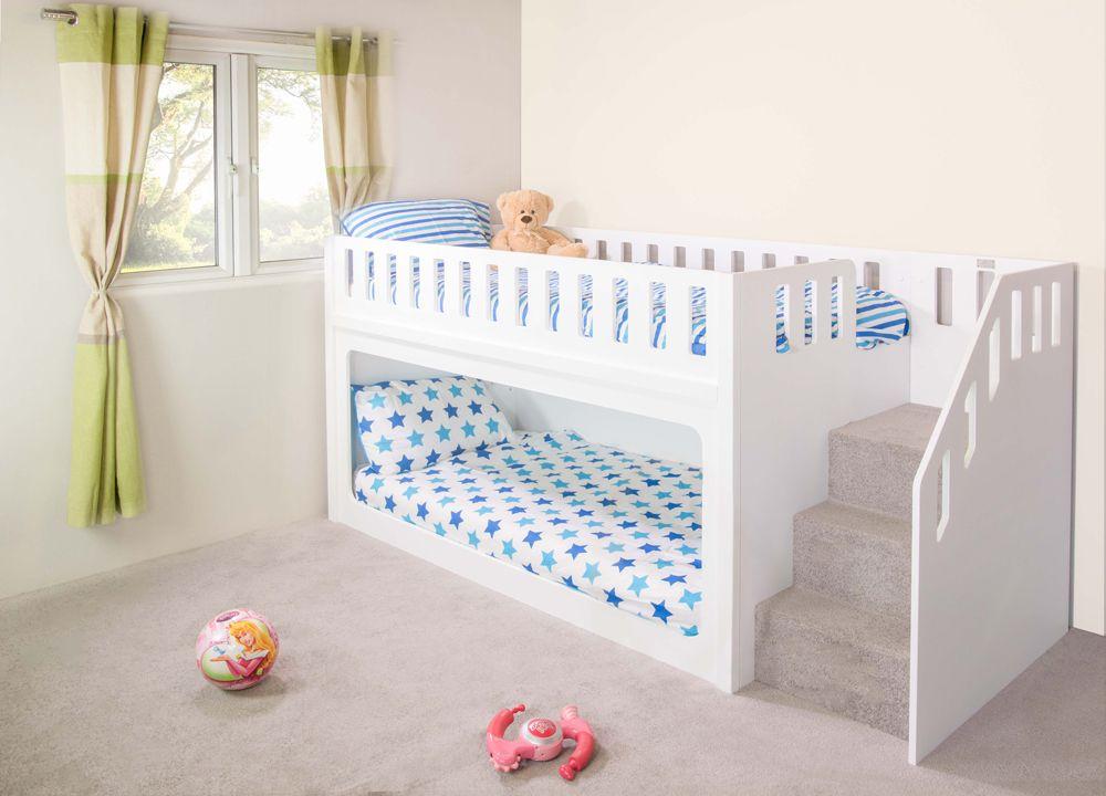 Best Deluxe Funtime Bunk Bed Single Kid Beds Kids Bunk 400 x 300