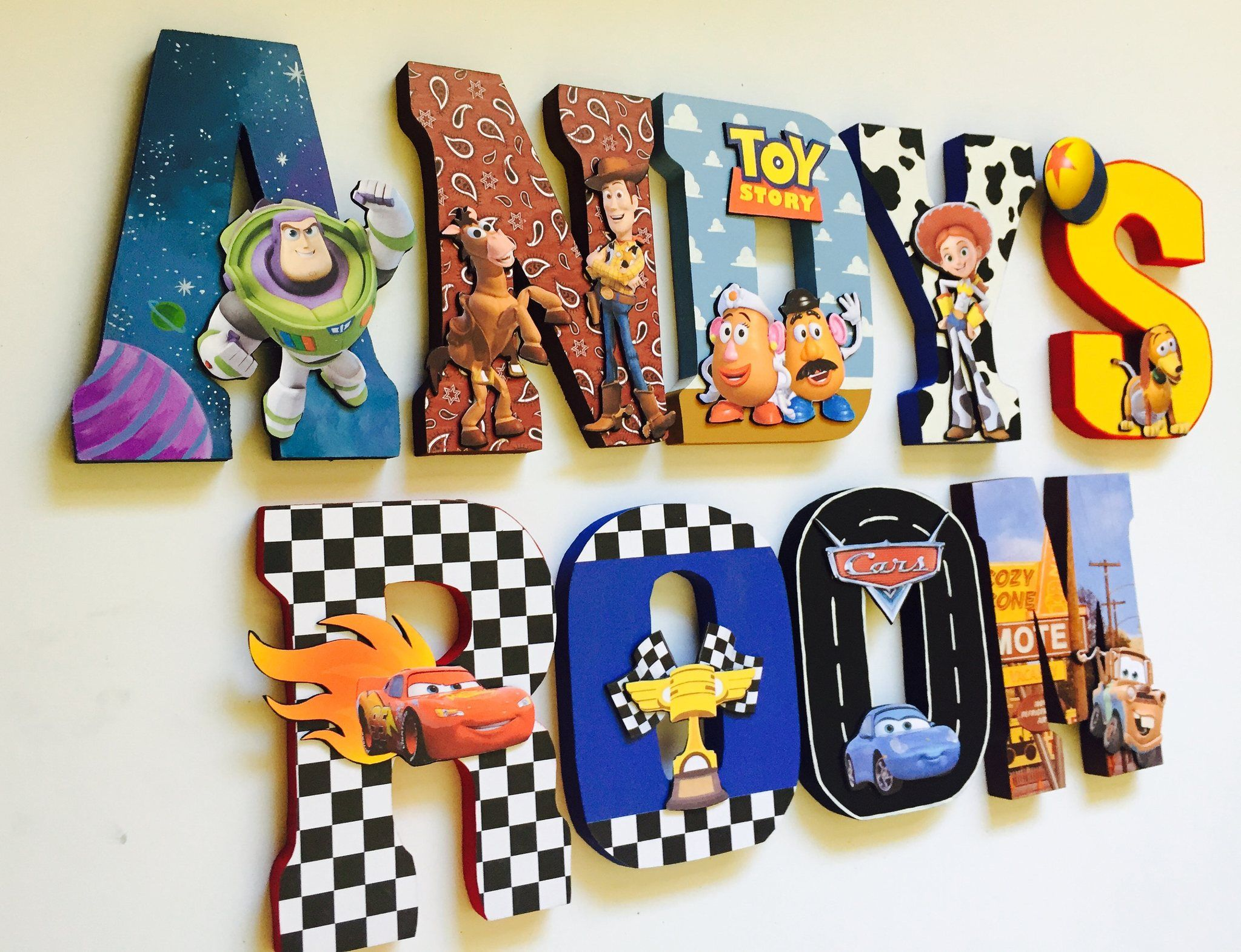 Toy Story First Birthday Letters Home