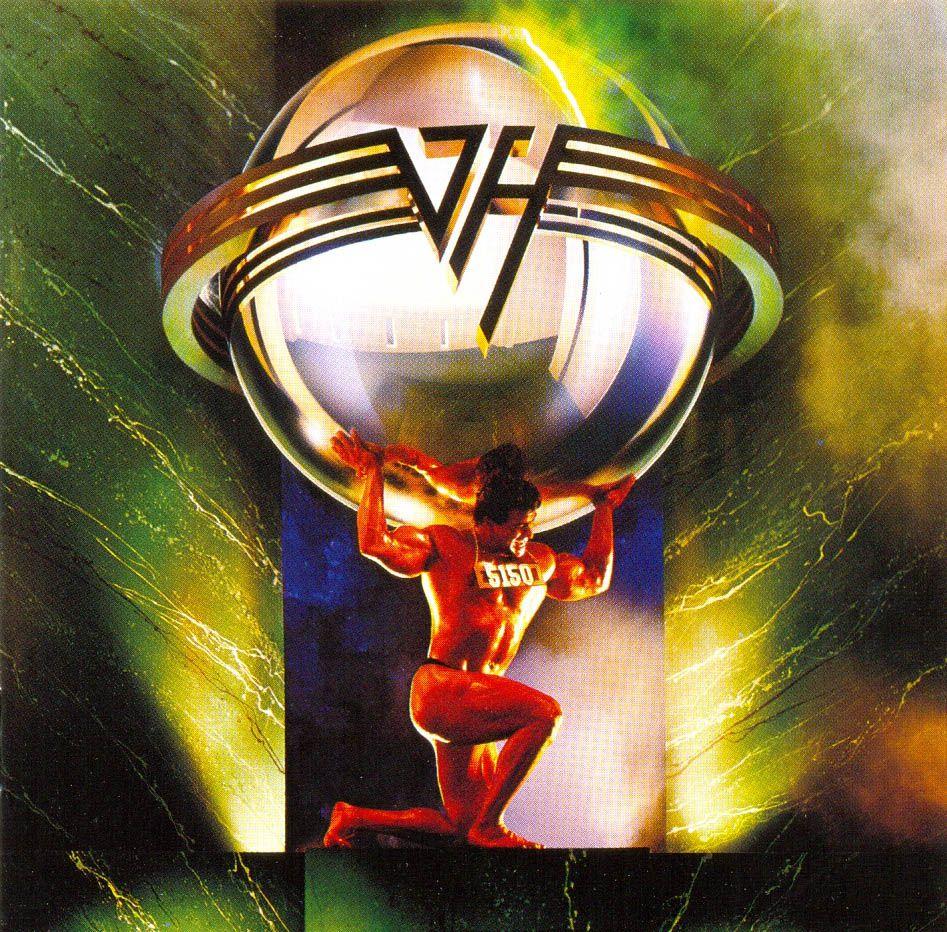 Van Halen 5150 Centrum Worcester Ma 8 14 1986 Met The Band Van Halen Van Halen 5150 Rock Album Covers