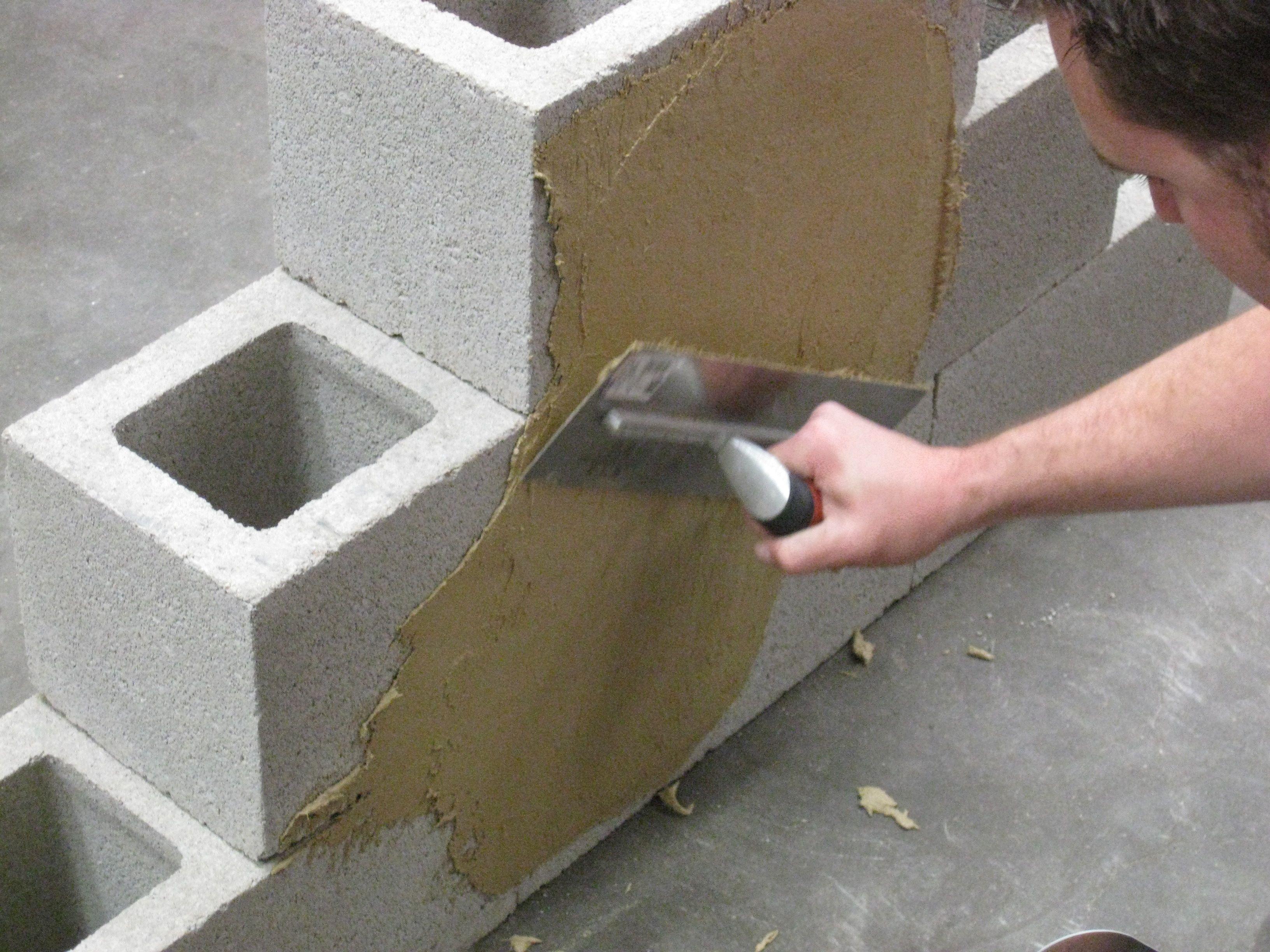 How To Build A Block Garden Wall Without Mortar Using Quikwall Surface Bonding Cement Garden Wall Cement Garden Backyard Landscaping Designs