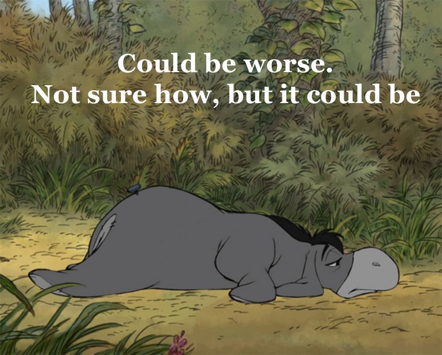 Eeyore Quotes TheRetroInc on Etsy | Me!! | Pinterest | Quotes, Eeyore and Winnie  Eeyore Quotes