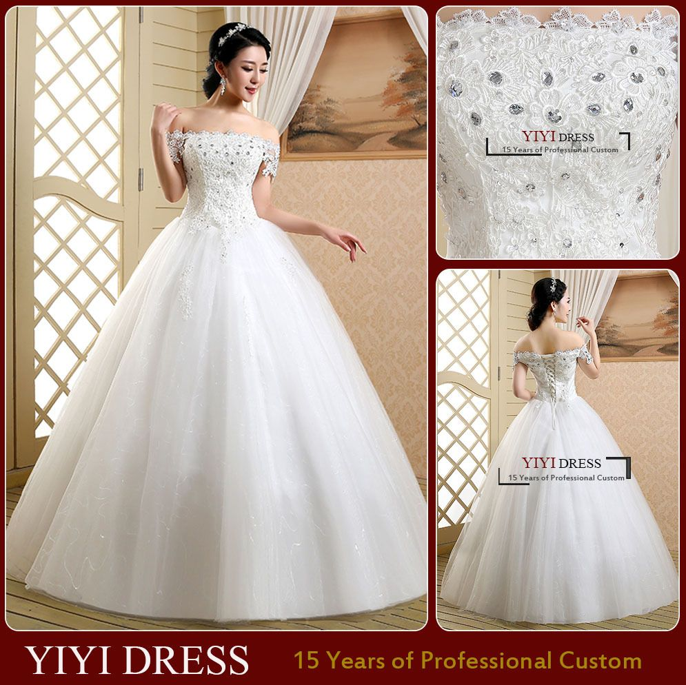 2015 A-line Strapless Sleeveless Vestidos de noiva Vestido de novia Wedding Dresses Elegant Tulle With High Quality Beads - http://www.aliexpress.com/item/2015-A-line-Strapless-Sleeveless-Vestidos-de-noiva-Vestido-de-novia-Wedding-Dresses-Elegant-Tulle-With-High-Quality-Beads/32311187839.html