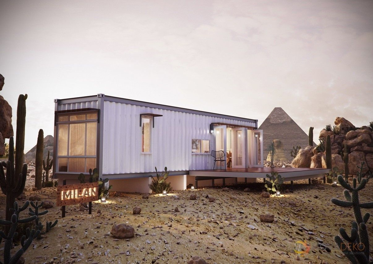 Best Kitchen Gallery: 10 Prefab Shipping Container Homes From 24k Prefab Ships And Milan of Storage Conex Box Homes on rachelxblog.com