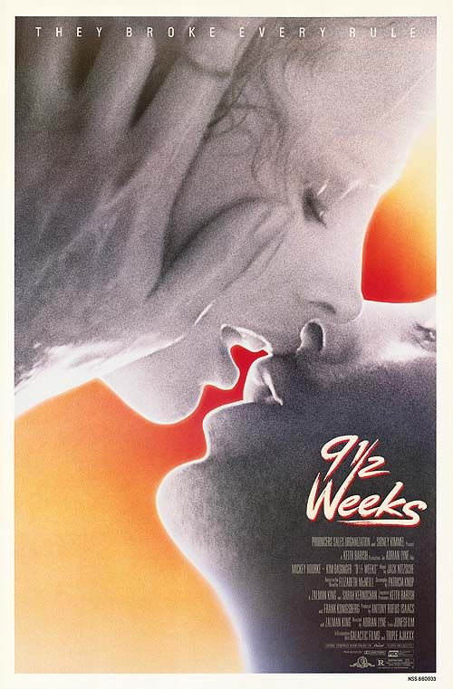 Nine 1 2 Weeks An Obsessive Love Affair Occupies The Lives Of