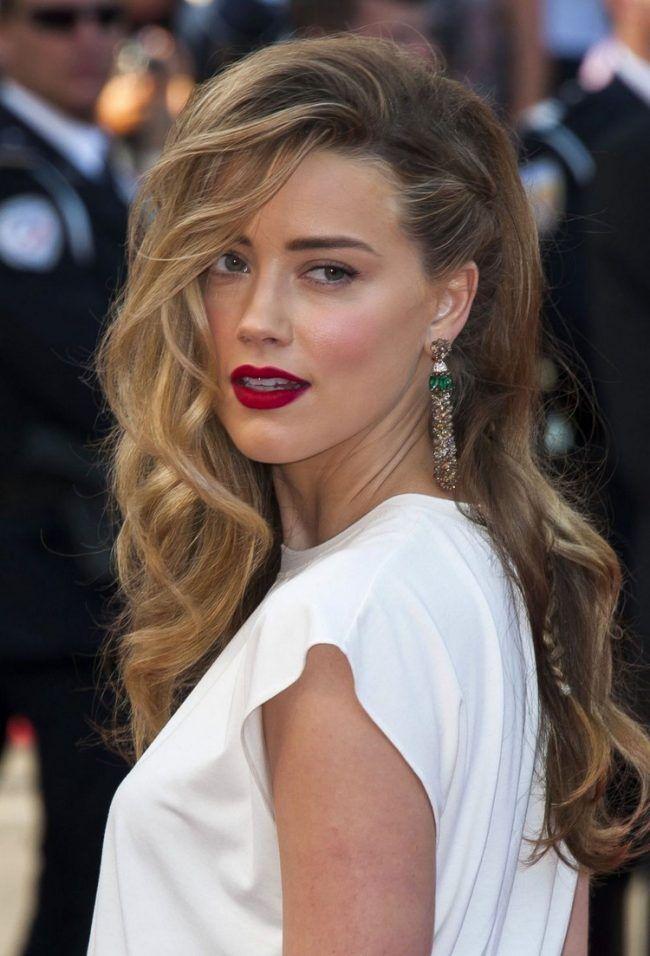 Mittellange haare frisuren seitenscheitel