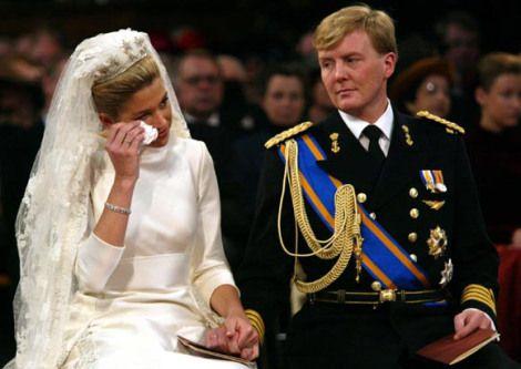 Maxima Zorrigueta Crying At Her Own Wedding Royal Wedding Royal Princess Maxima