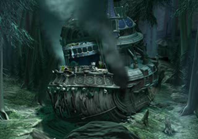 Week 9 - Final Fantasy IX - Original Game Art Sun - Crash Landing in ...