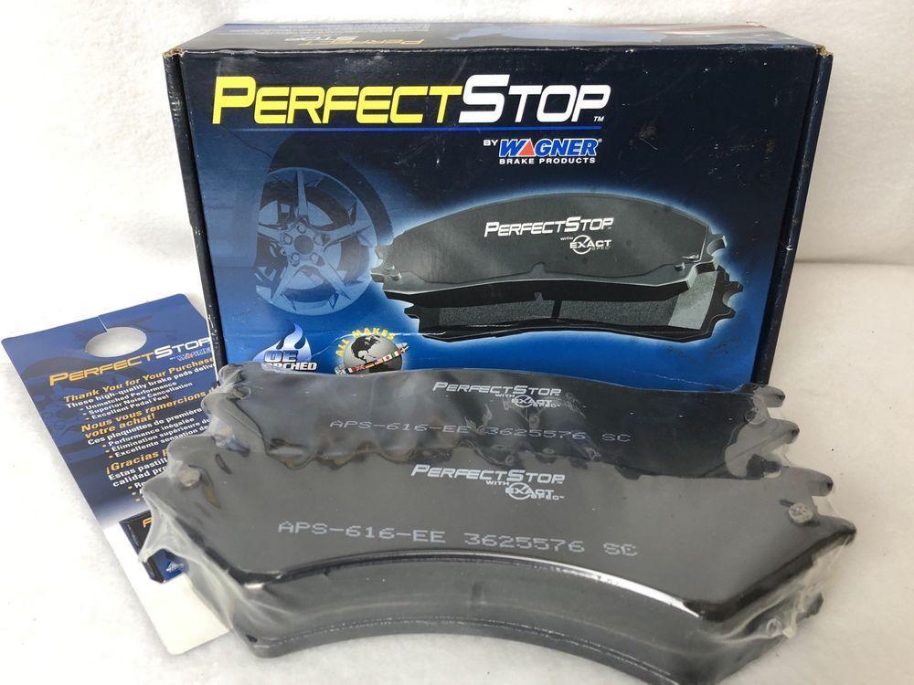 Disc Brake Pad Set Wagner PS802M Semi-Metallic Made in USA