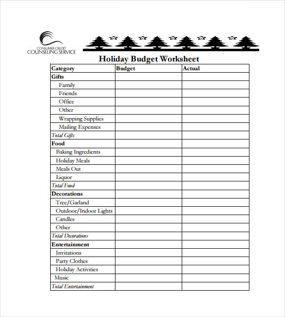 holiday budget spreadsheet free template budget spreadsheet