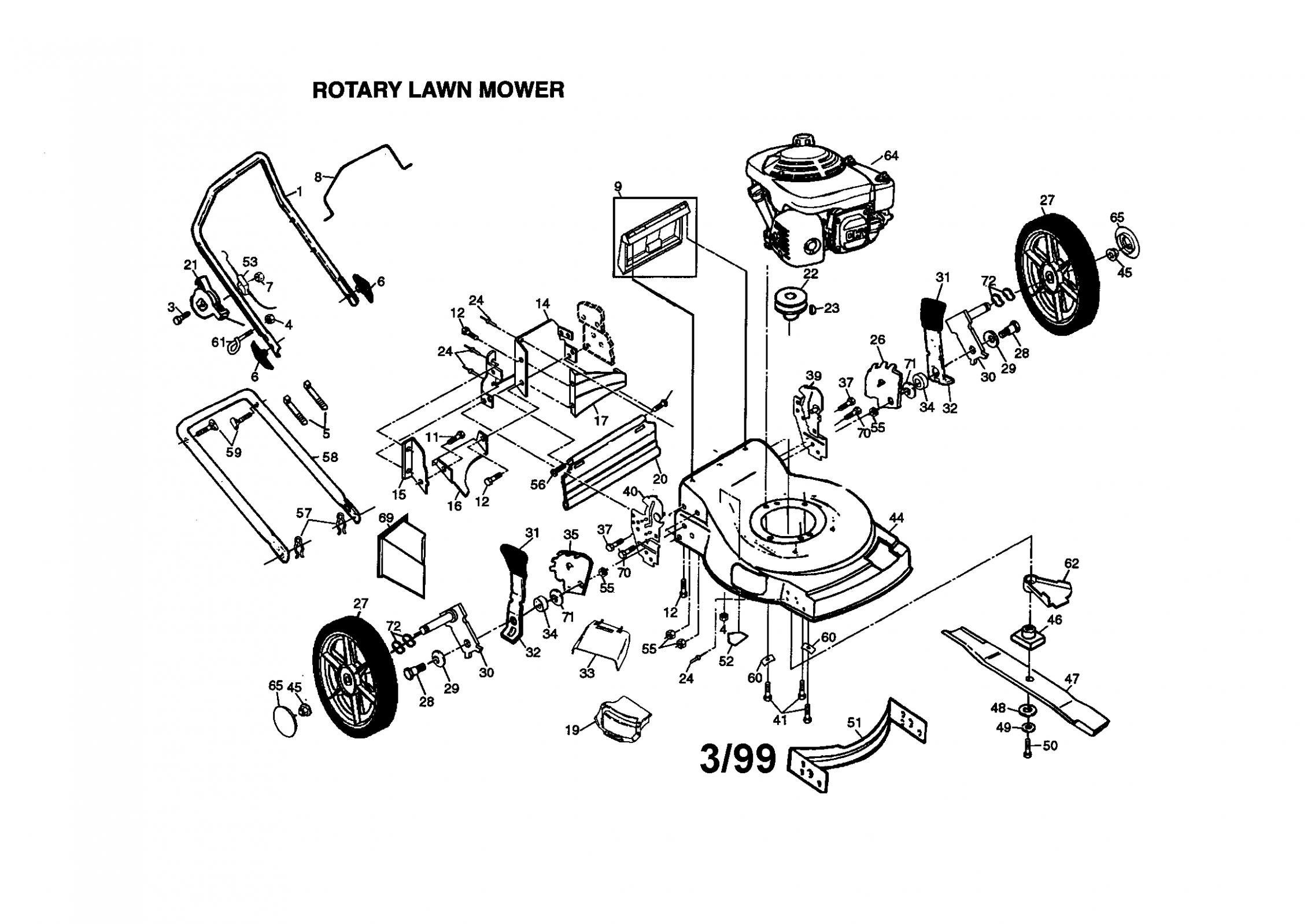 Honda Small Engine Parts Diagram di 2020