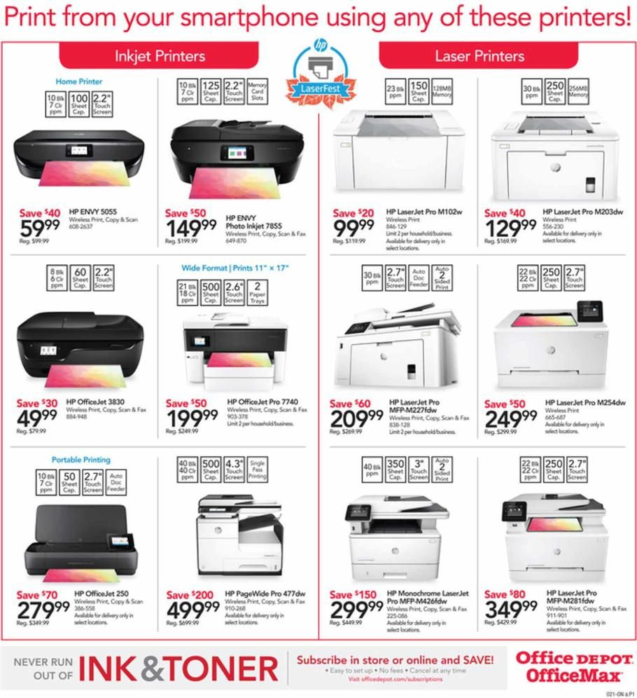 Office Depot and OfficeMax Countdown to Black Friday 2018