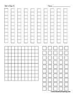 Printable Base 10 Blocks | Colored paper, Videos and Places