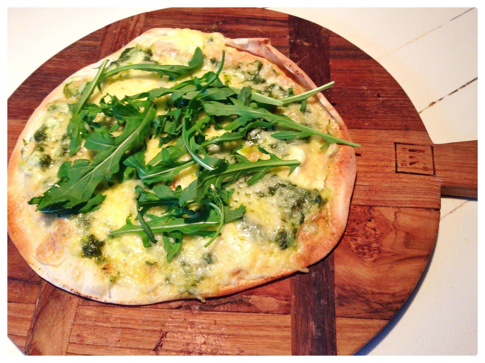 Vrij!gevig: Pizza pesto & rucola