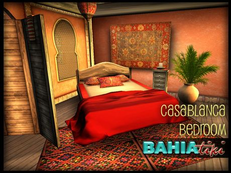 Bahia Tiki Casablanca Bedroom Set Tiki Bedroom Design