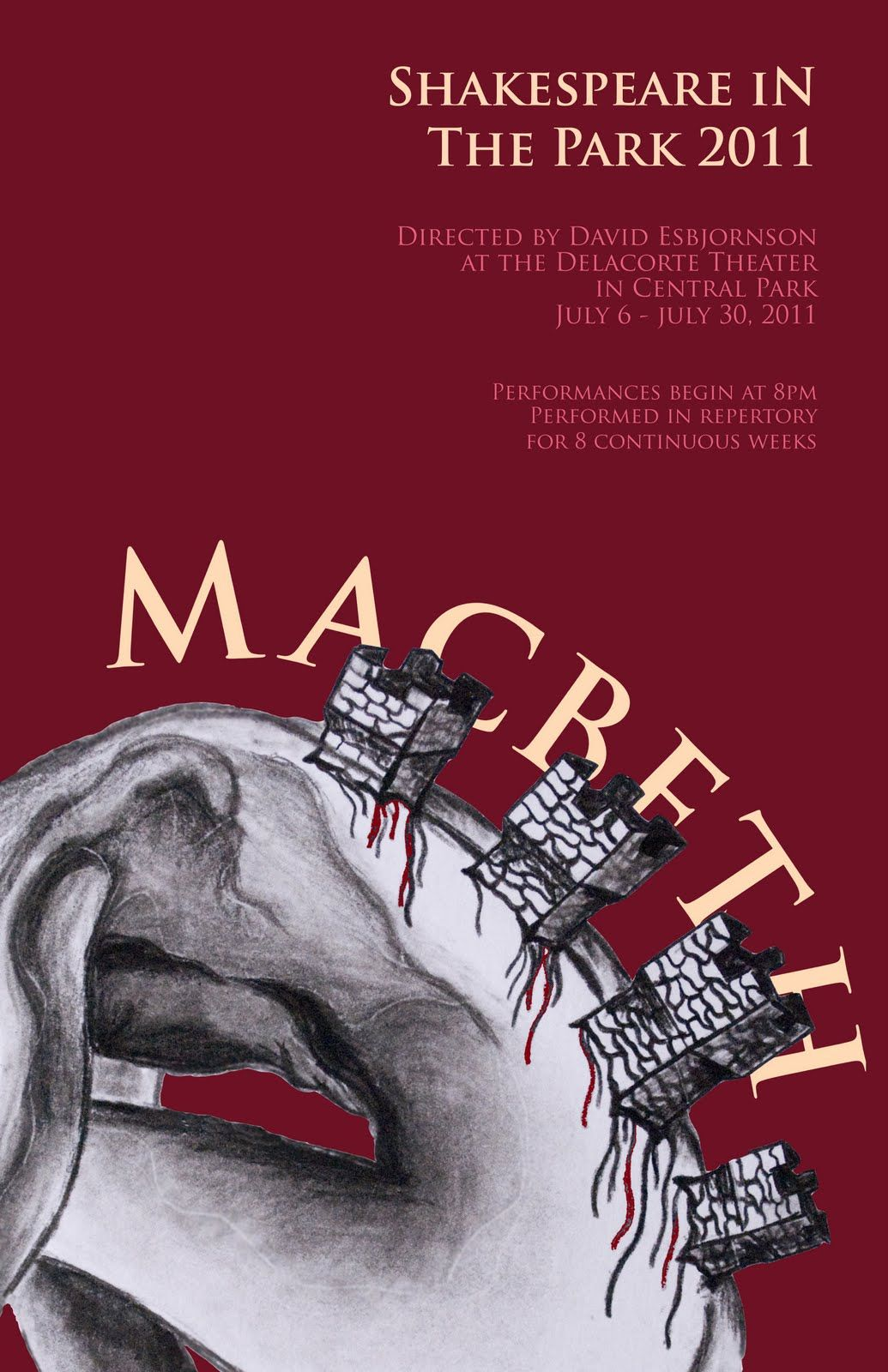 Poster design ks3 - Macbeth Poster Ideas Inspiration