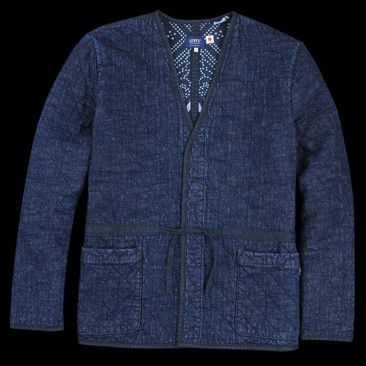 Levi S Made Crafted Denim Quilted Jacket In Carlow Quilted Jacket Denim Quilt Classic Denim Jacket