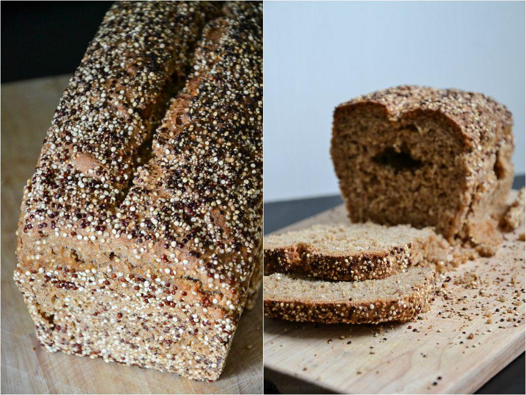 Vegan Quinoa Bread (Quinoa Brot)