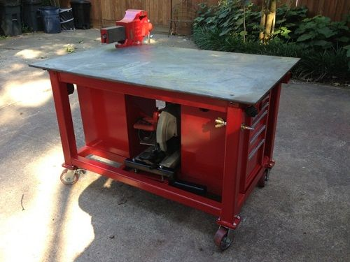 Peachy Small Welding Table Plans Furniture Welding Bench Download Free Architecture Designs Embacsunscenecom