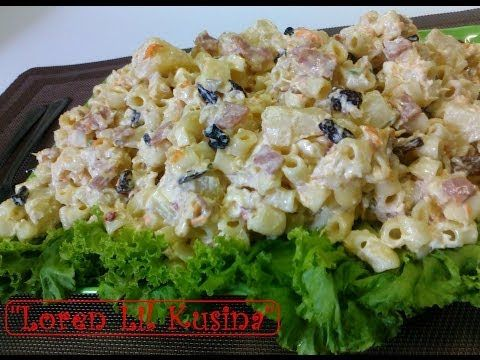 Macaroni chicken salad homemade of course we adapted from the macaroni chicken salad homemade of course we adapted from the west and made our own filipino version a delicious and welcome treat for any b day forumfinder Gallery