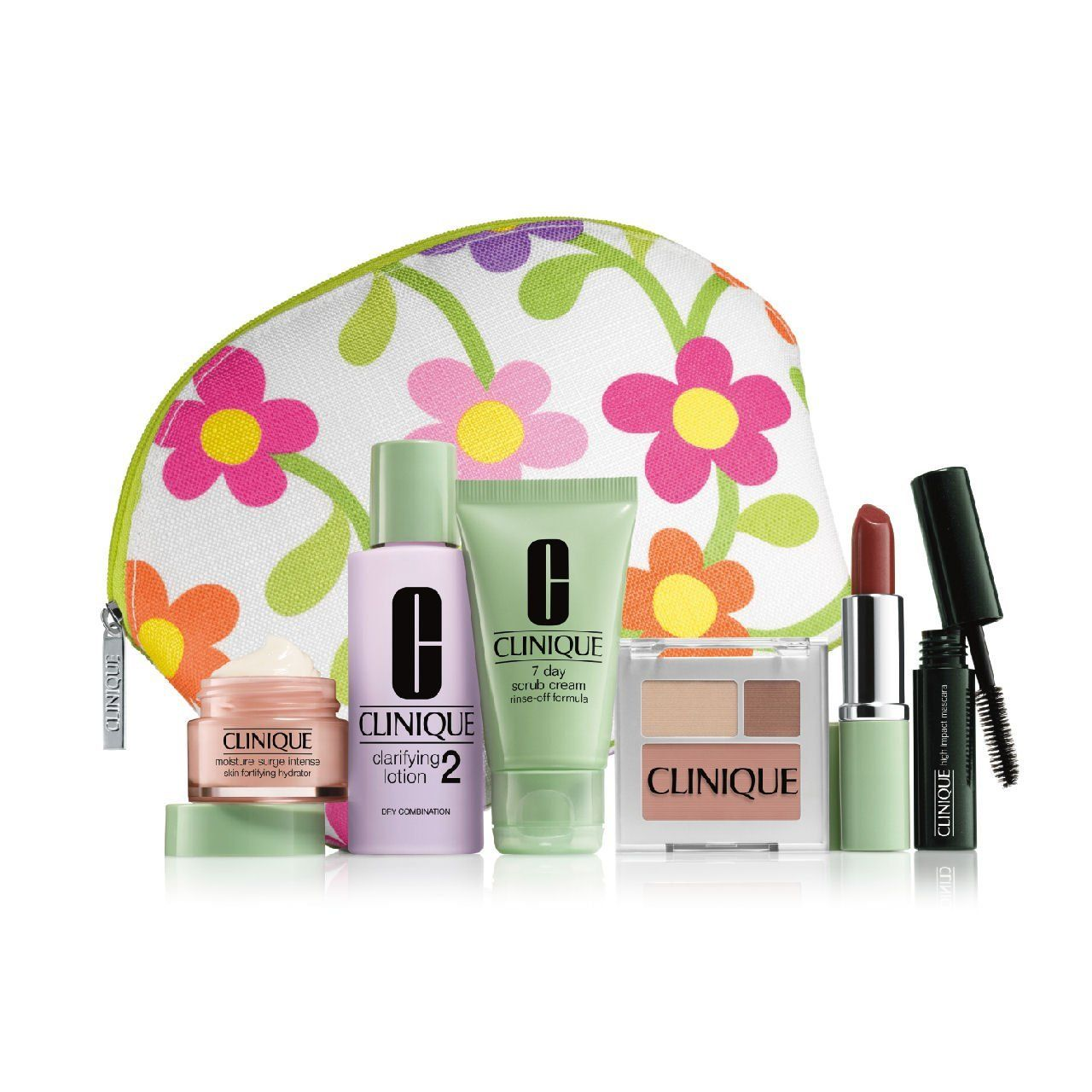 Clinique 2013 7 Piece Skincare Makeup Gift Set with