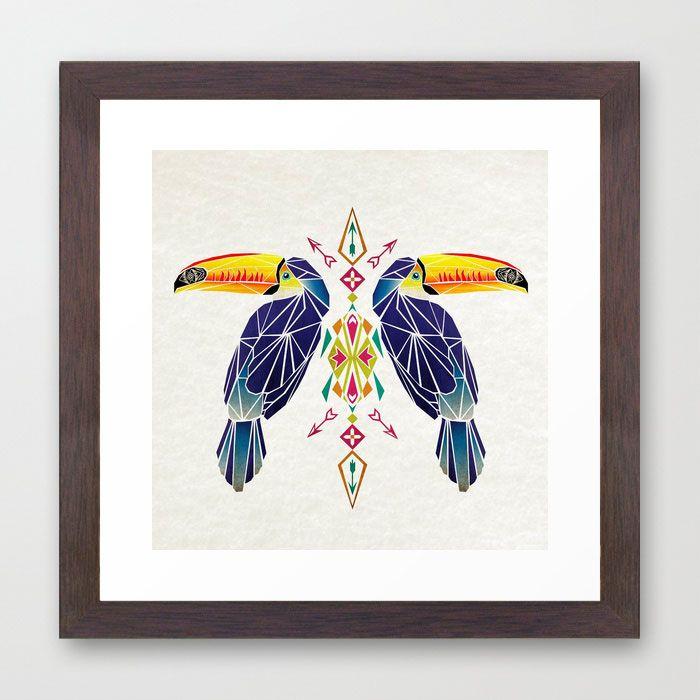 Double Toucan Print |