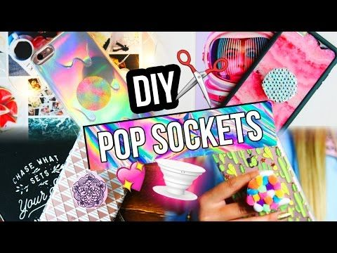 diy pop socket make your own pop socket with things lying around