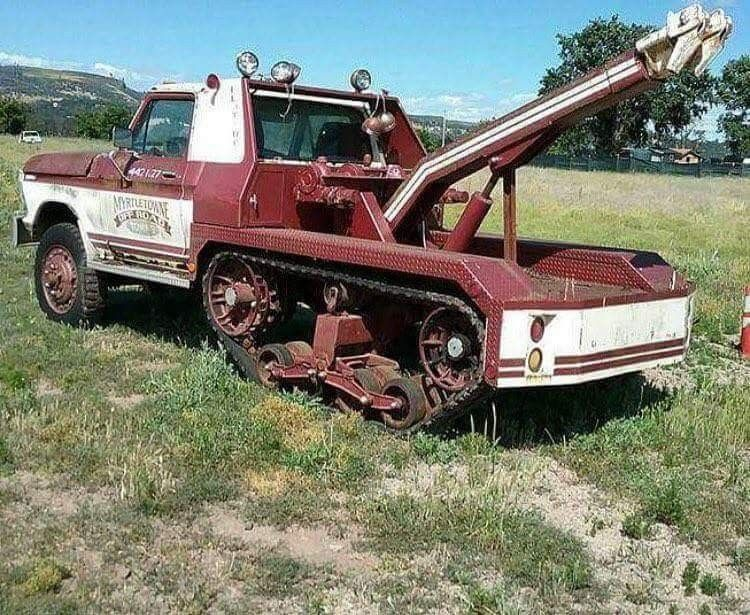 """Pin on don't hate because we rotate """"tow trucks"""""""