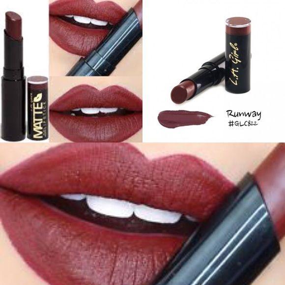 LA GIRL MATTE LIPSTICKS! RUNWAY LA GIRL MATTE LIPSTICKS! RUNWAY Makeup Lipstick