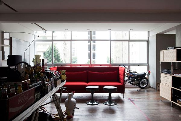 Einzigartiges modernes Interior Design geht extrem