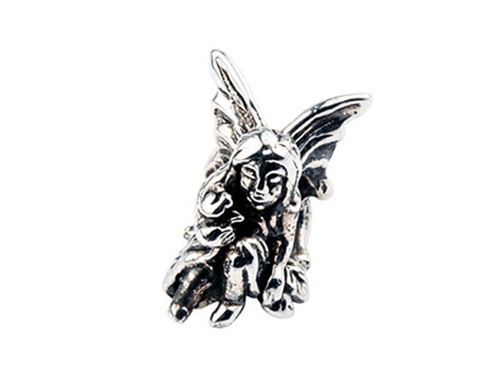 SilveRado Sterling Silver Fairy Bead / Charm