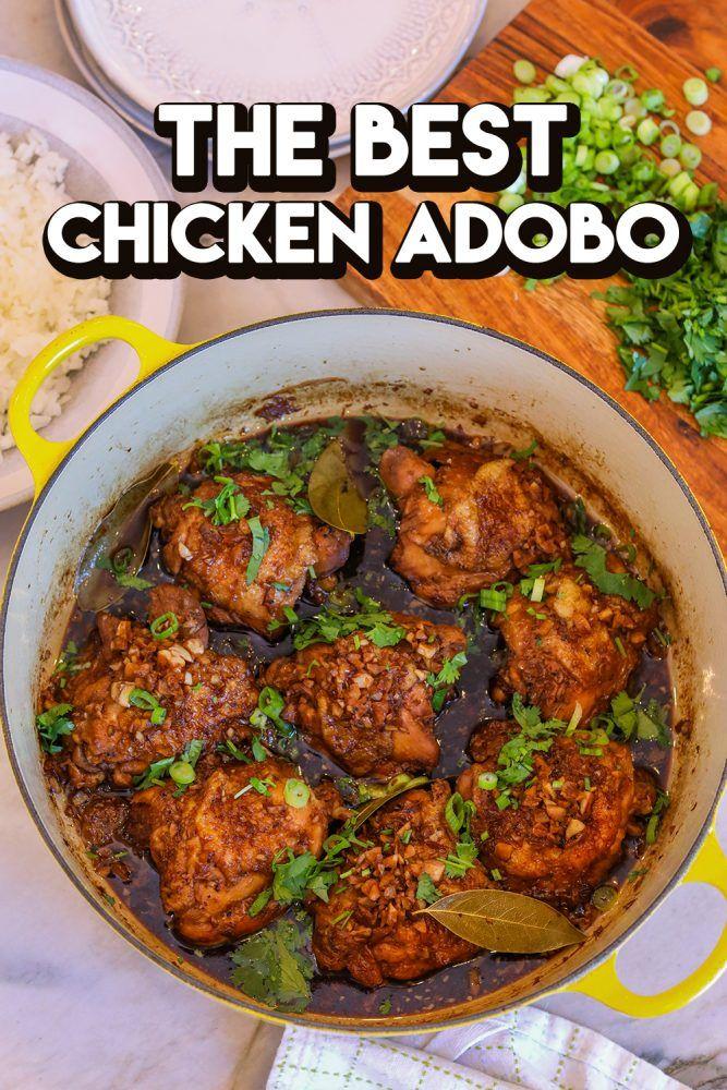 Photo of The BEST Filipino Chicken Adobo Recipe & Video – Seonkyoung Longest