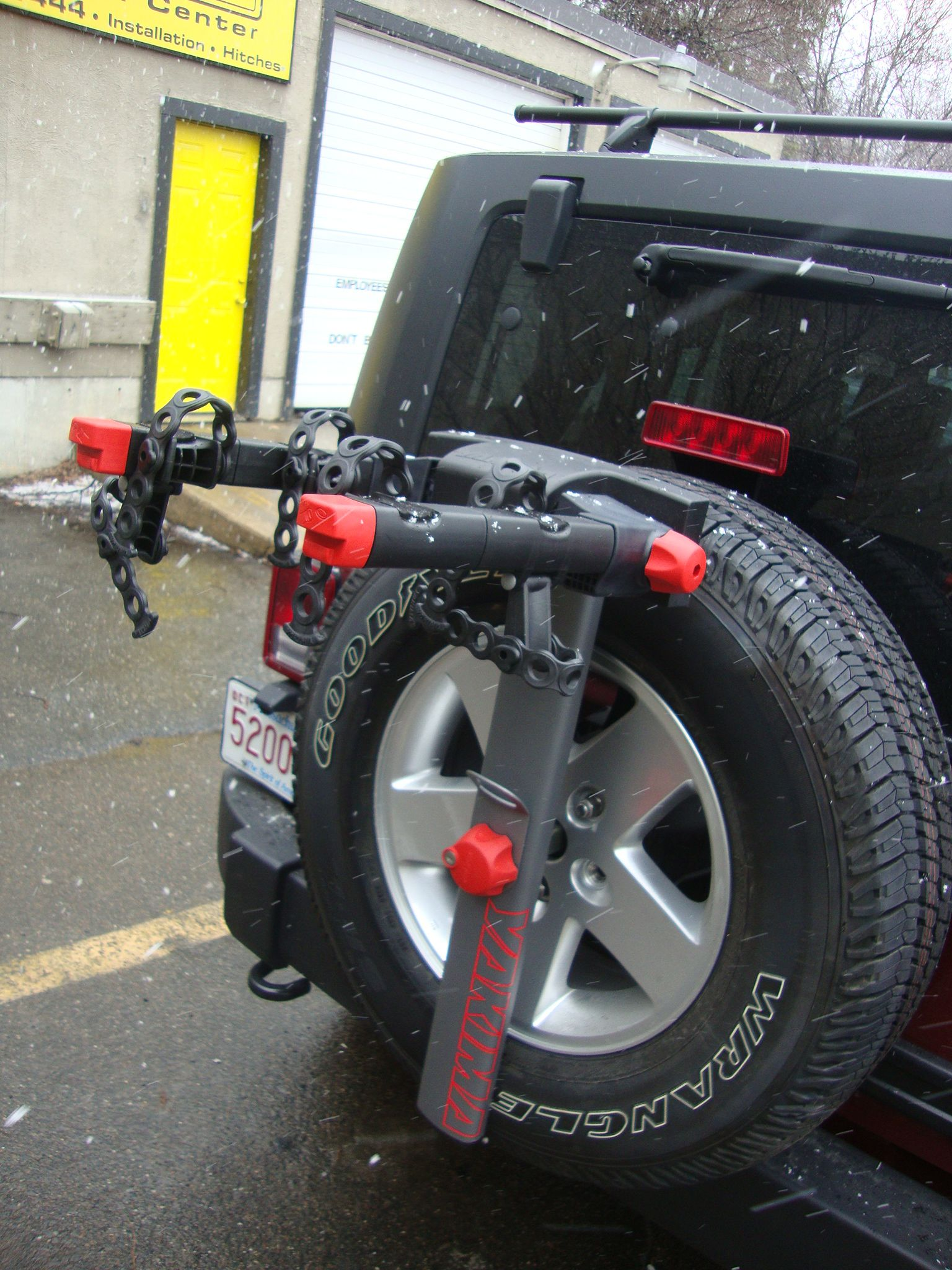 Bike Rack For Jeep Wrangler Google Search Bike Rack Indoor Bike Rack Schwinn Bike