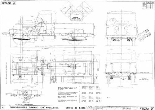 land rover 109  1962