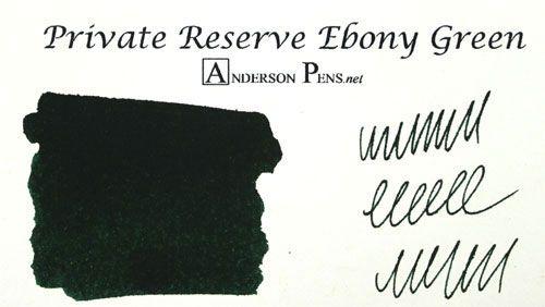 Private reserve ebony green